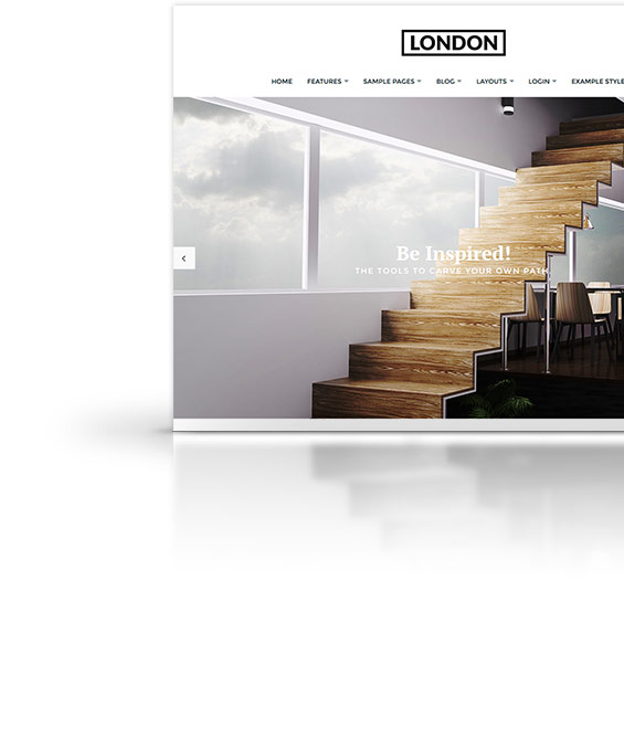 London Joomla Template