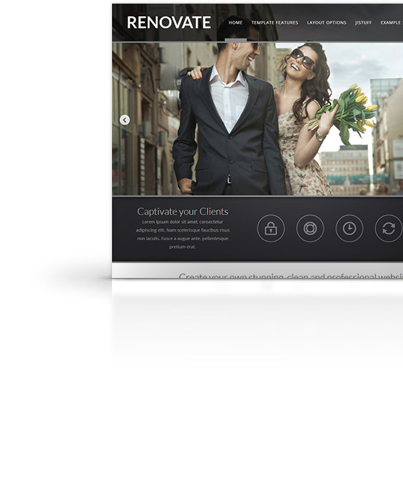 renovate joomla template