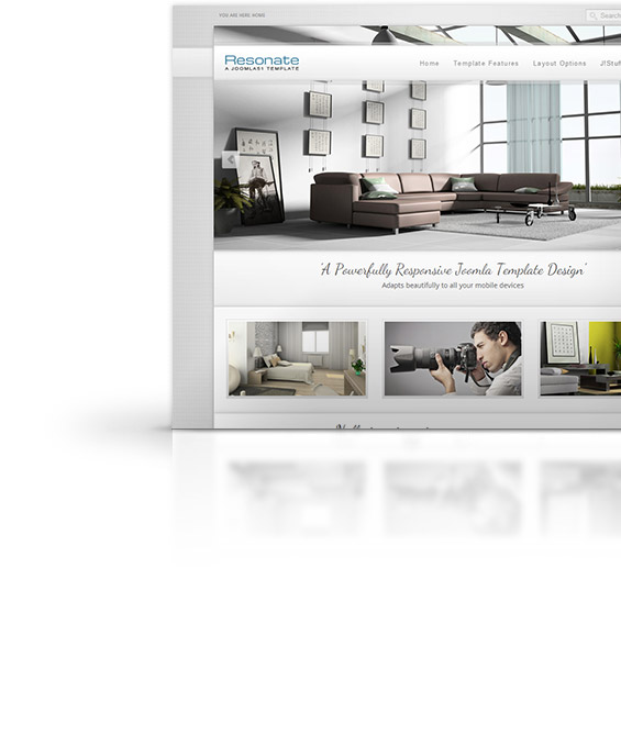 Resonate Joomla Template