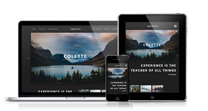 Colette - A Stylish and Clean Joomla Template Solution
